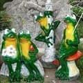 Фигурки лягушек