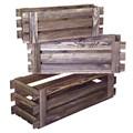 Деревянные балконные ящики для цветов 59-151