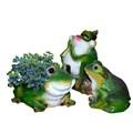 Садовые фигуры Лягушки из полистоуна