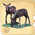 Садово-парковая скульптура Олениха US07666