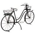 Металлический велосипед для декора сада