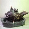 Садовый фонтан Рыба Кит US07705 - фото 12871