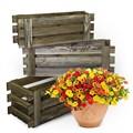 Деревянные ящики для балкона