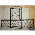 Забор с калиткой кованый - фото 13205