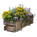Кронштейн для цветов на балкон 51-024 - фото 13234