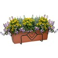 Кронштейн для цветов на балкон 51-024 - фото 13236