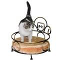 Лежанка для животных с подушкой - фото 13390