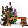 Панды на дереве - фото 13664