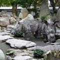 Садовая фигура Носорог - фото 13669