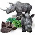 Садовая фигура Носорог - фото 13670