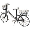 Кованая подставка велосипед