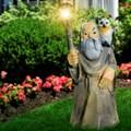 Садовый светильник фото