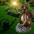 Садовый светильник дракон