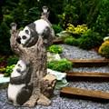 Садовый светильник Дерево с пандами - фото 13795