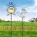 Шпалера Лягушенок с фонарем - фото 13829