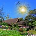 Шпалера для растений Утка с фонарем - фото 13831