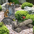 Комплект садовых фигур - Фонтан и Кашпо - фото 14082