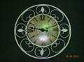 Настенные часы с декупажом - фото 14479