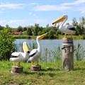 Комплект фигур птицы