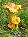 Садовая фигура Грибы лисички - фото 14554