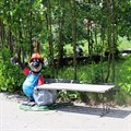 Скамейка садовая крот