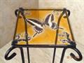 Напольная подставка под цветок витраж бабочка - фото 14893