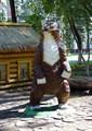 Медведь фигура для парка