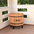 Кадка деревянная - фото 15040