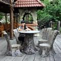 Комплект садовой мебели Пеньки - фото 15117