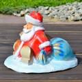 Подставка под елку Дед Мороз с мешком - фото 15405