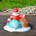 Подставка под елку Дед Мороз с мешком - фото 15406