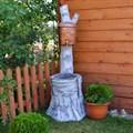 Умывальник столб для сада и дачи