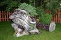Кашпо пень цветочница - фото 15533