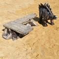 Фигура стегозавра