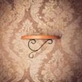 Полка с кованым декором - фото 17139