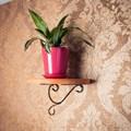 Полка с кованым декором - фото 17140