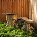 Лавочка для сада