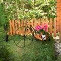 Подставка для цветов Велосипед - фото 17472