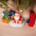 Подставка под елку Дед Мороз с мешком - фото 17514