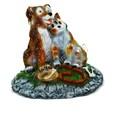Декоративная крышка люка Собака с кошкой - фото 17608
