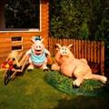 Комплект фигур свинки - фото 17683