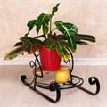 Подставка под цветы Санки - фото 18271