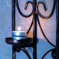 Подсвечник настенный металлический - фото 18288