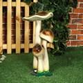 Опята садовая фигура