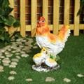 Фигура для дачи курица с цыплятами