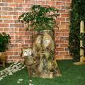 Садовая фигура пень