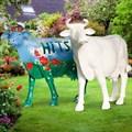 Корова рекламная фигура