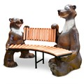 Скамейка садовая Медведи