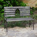 Садовая скамейка фото