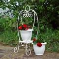 Белая подставка для цветов